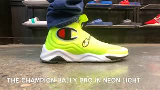 The Champion Rally Pro in NEON LIGHT is