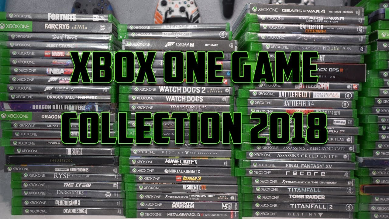 Xbox 1 Games 2018 : Xbox one game collection youtube