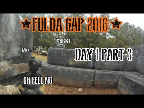 "Fulda Gap Airsoft 2016 Day 1 Part 3 - cheater confronted - 4 nato tank assault ""Oh Hell No"""