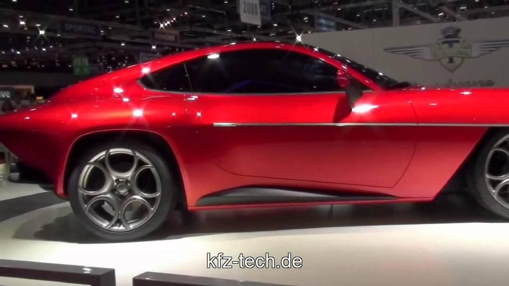 Alfa Romeo Disco Volante Von Touring 2012 Youtube