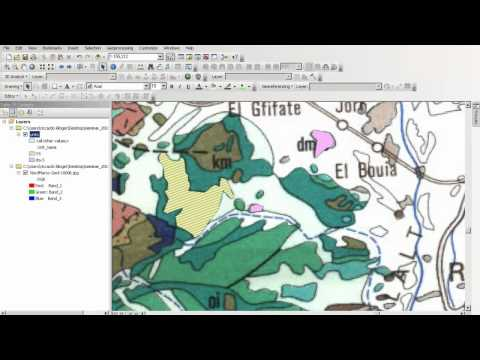 create and edit shape-files with arcmap