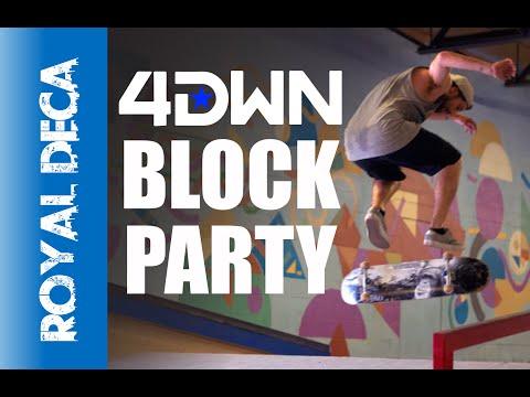 Dallas TX Skateboarding - Index Skateboarding - 4DWN Block Party 2015 - Royal Deca