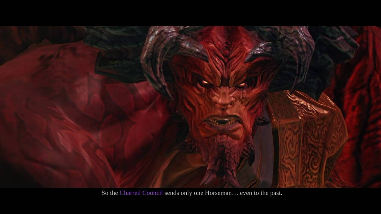 Darksiders II Lilith and Samael
