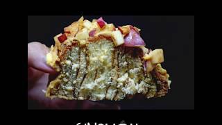 Apple Custard Sinamon Roll