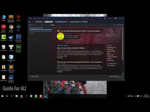 Fix error Your client old version PUBG