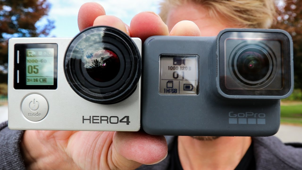 Gopro Hero 5 Vs Hero 4 >> Gopro Hero5 Vs Hero4 Silver Edition Youtube