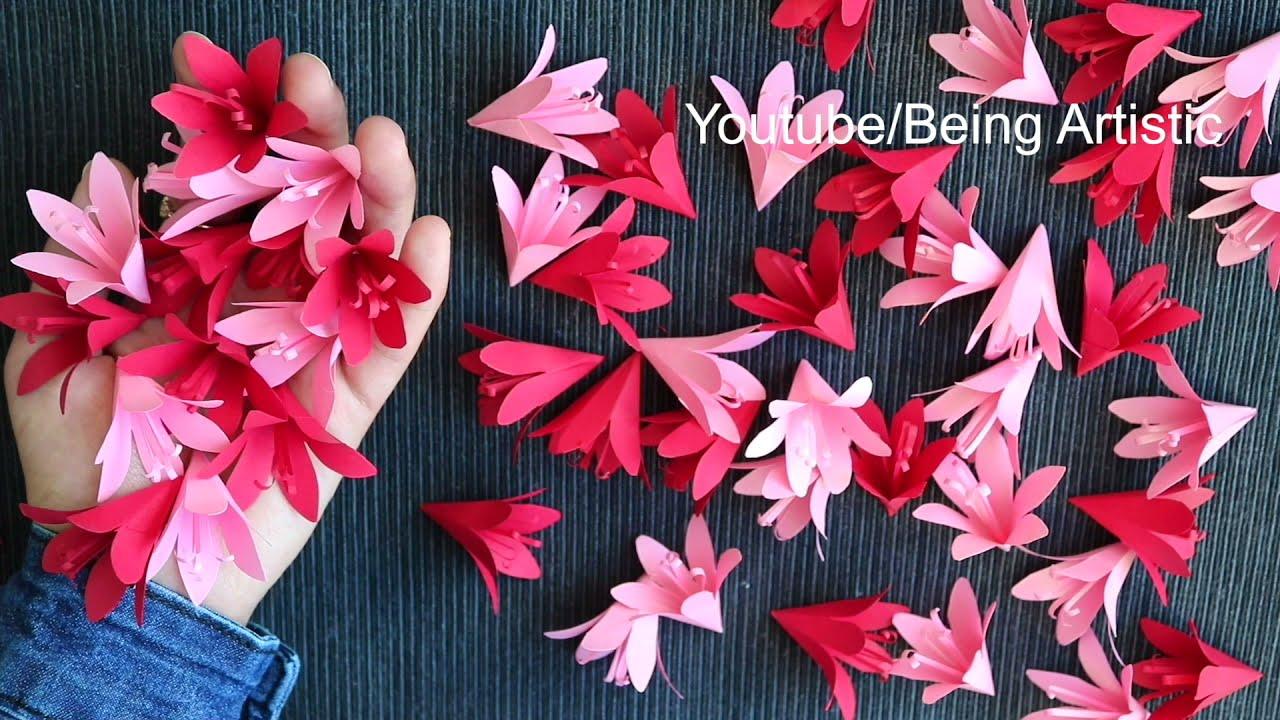 How To Make Paper Flower - Paper Craft - DIY Flower