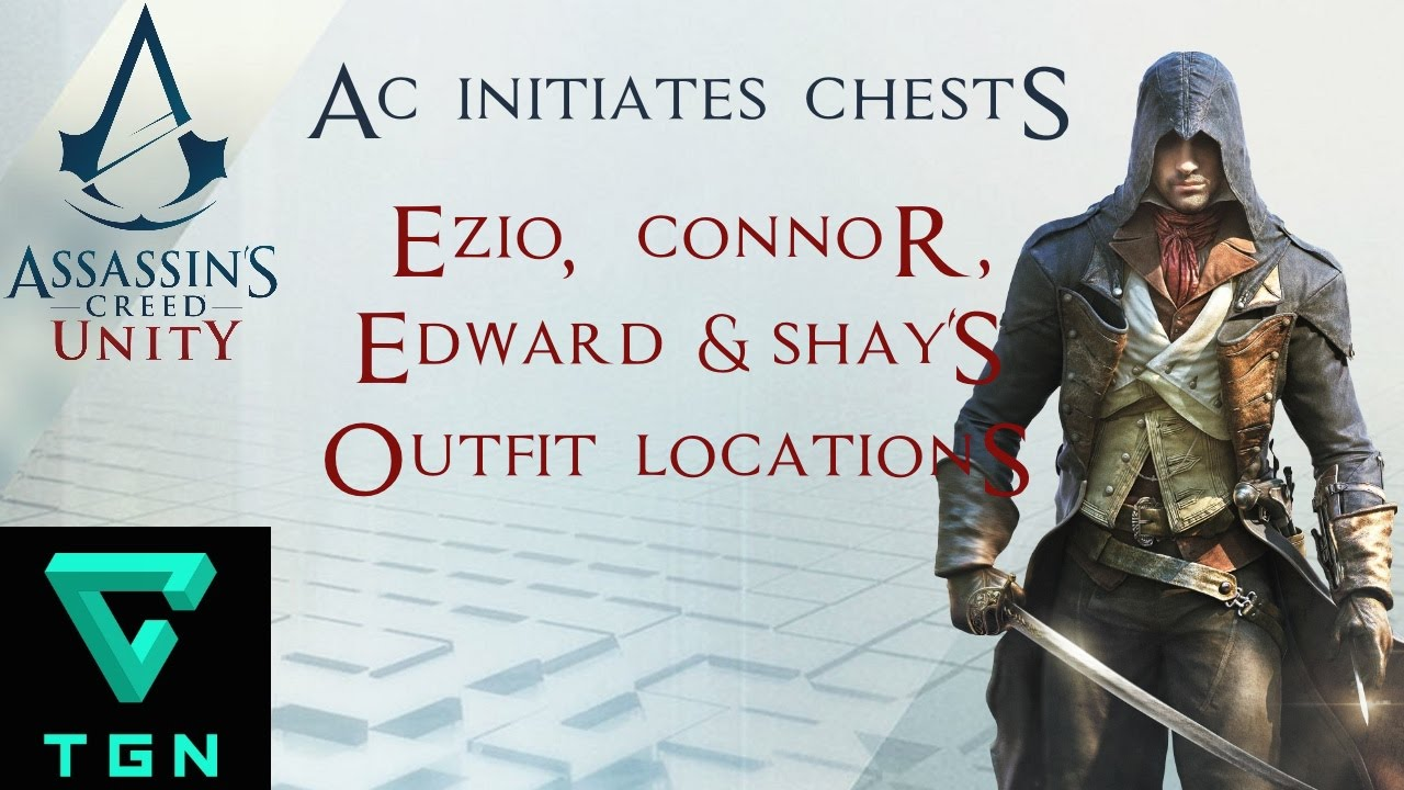 Assassin S Creed Unity Ezio Connor Edward Shay S Outfit