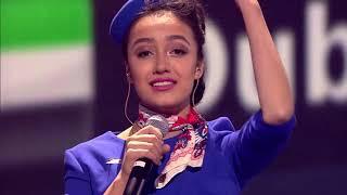 Дильнура Биржанова. ABBA – SOS. X Factor Kazakhstan Live Show #6 Seaon 7 Episode 16