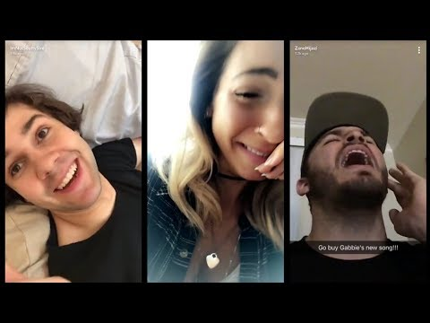 The week Gabbie's song came out || VLOG SQUAD SNAPCHAT STORIES