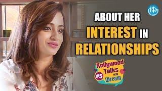 Trisha About Her Interest in Relationships || Kollywood Talks With iDream || #Trisha