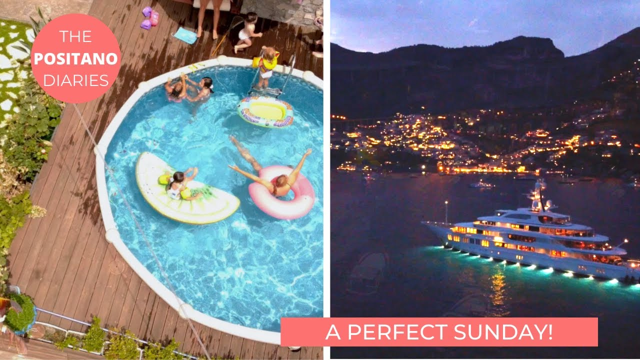A DAY IN MY LIFE | A PERFECT SUMMER SUNDAY! The Positano Diaries EP 129