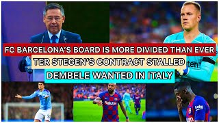 Fc barcelona's board is more divided than ever | ter stegen's potential summer exit barca media