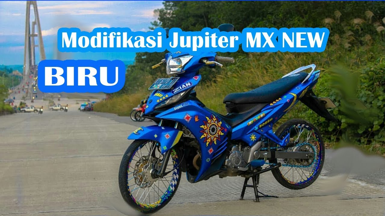 Modifikasi Jupiter Mx New 135