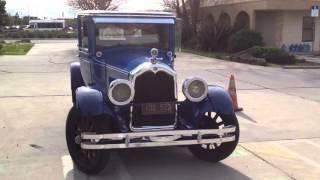 1927 BUICK  MASTER RUMBLE SEAT CAR