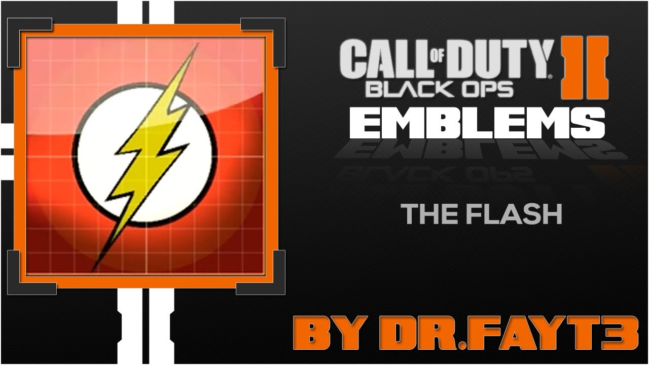 Black ops 2 emblems the flash emblem dc superheroes by black ops 2 emblems the flash emblem dc superheroes by thearccommunity youtube biocorpaavc