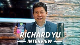 Huawei CEO Richard Yu talks Mate 10 and US launch