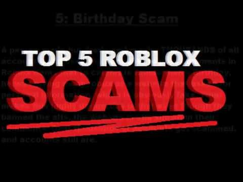 Top 5 Roblox SCAMS