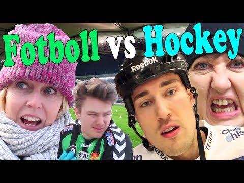 FOTBOLL VS HOCKEY (ft Babben & Annika Andersson)