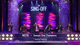 The Sing-Off Season 2 - NOTA appearance (winners Season 1)