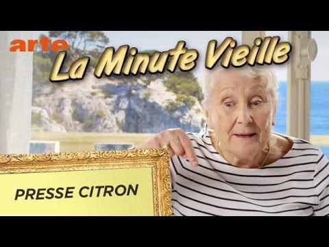 Presse citrons - La Minute Vieille - ARTE