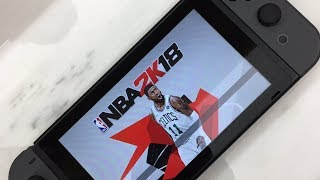 NBA 2K18 Kyrie Irving Updated Cover! Nintendo Switch Features!
