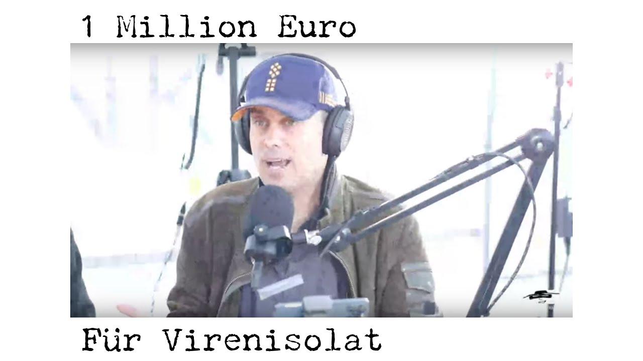 Samuel Eckert 1 Million Euro für Virenisolat Backstage Sendung Querdenken 711 Cannstatter Wasen