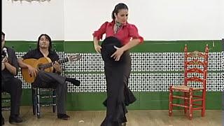 """How to dance """"Garrotin"""" - Metodo de Baile Flamenco - from DVD ラ・マルケシータ「ガロティン」教則"""