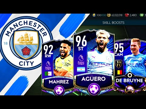 EPIC FULL MAN CITY SPECIAL CARDS SQUAD BUILDER ! FIFA MOBILE 20
