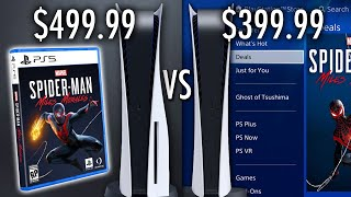 PS5 vs. PS5 Digital Edition: Is A Cheaper Console Worth The Drawbacks?