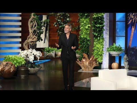 George Clooney on the Accident That 'Used Up His 9 Lives'