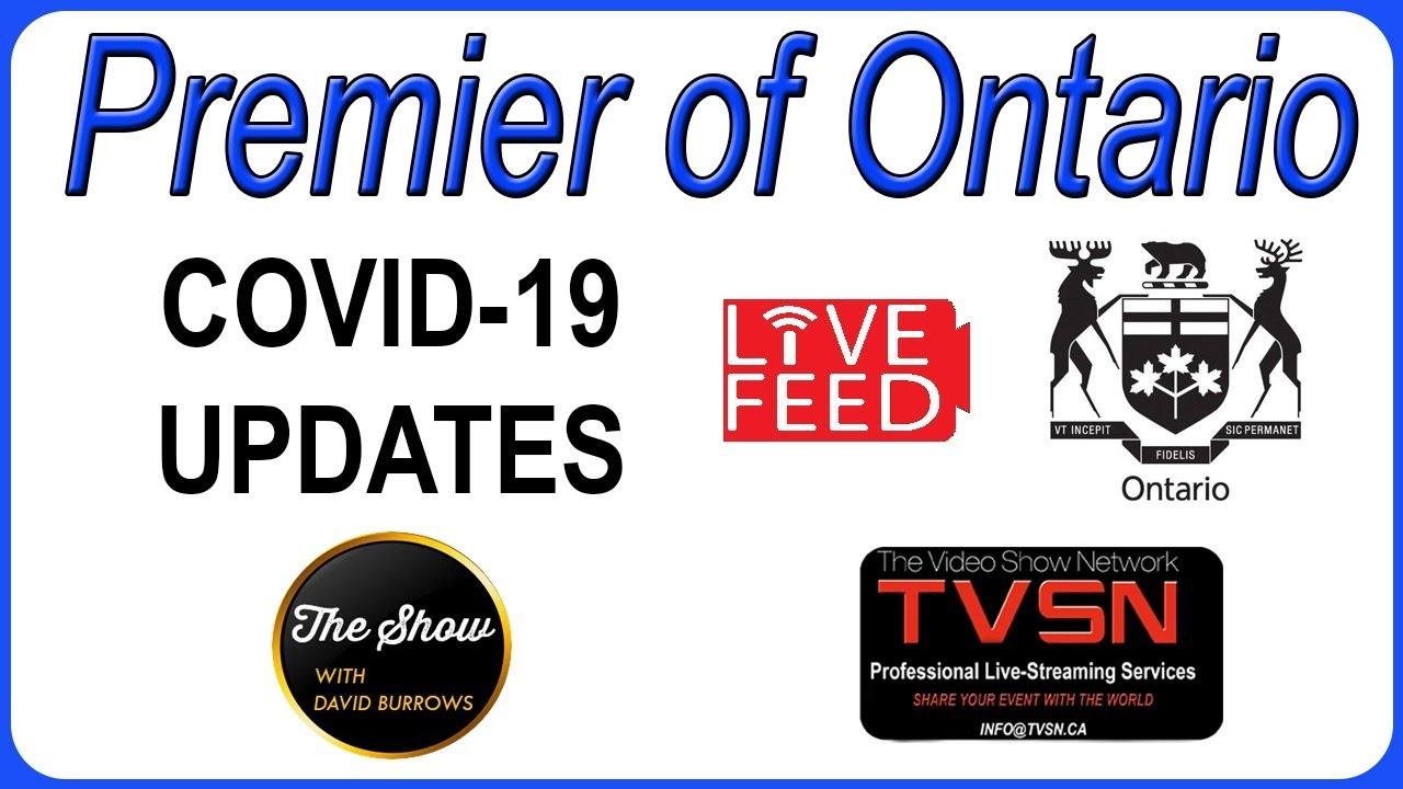 Premier Doug Ford Updates September 11th 2020 Youtube