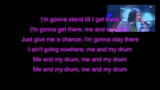 Swingfly - Me and my drum (feat. Christoffer Hiding) (LYRICS)