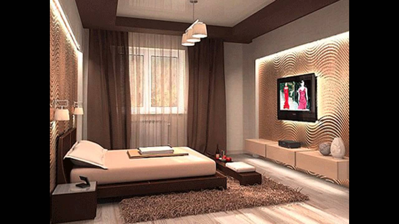 Exotic male bedroom decorating ideas youtube for Bed rooms design