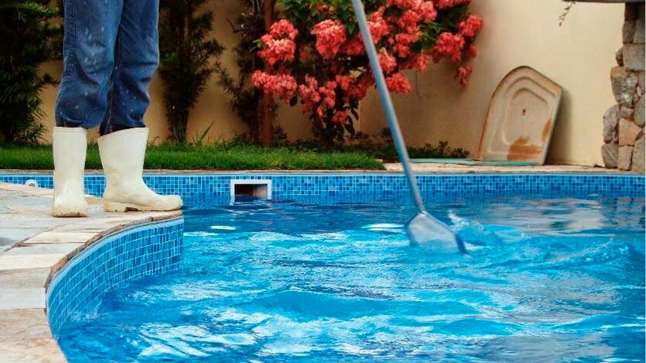 Curso limpeza f cil limpeza da piscina cursos cpt for Curso piscinas