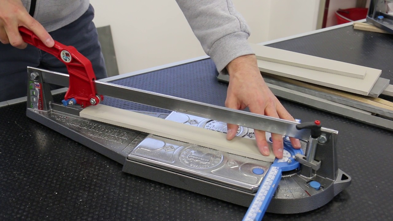 Cutting 5 hard porcelain tiles with a small minipiuma tile cutter cutting 5 hard porcelain tiles with a small minipiuma tile cutter dailygadgetfo Gallery