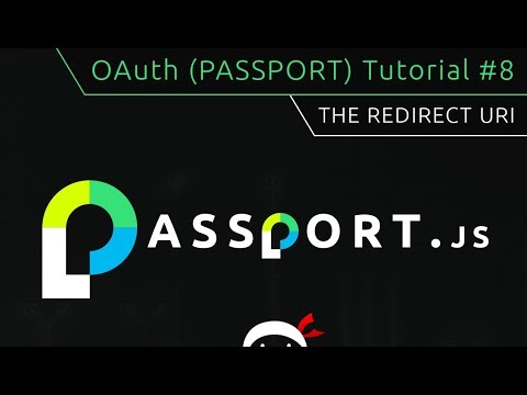 OAuth (Passport.js) Tutorial #8 - The Redirect URI