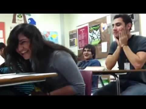 girl squirting in class