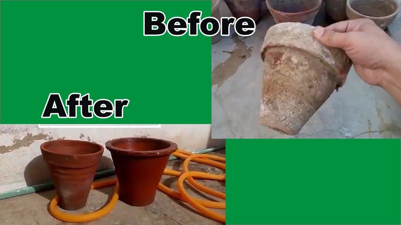 Clean Garden Pots How to clean garden pots 2017 urdu hindi youtube how to clean garden pots 2017 urdu hindi workwithnaturefo