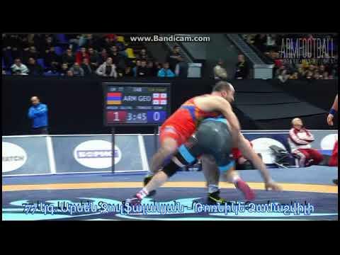 Top 10. Armenian Greco-roman Wrestler's Best Moves In Kiyv Tournament