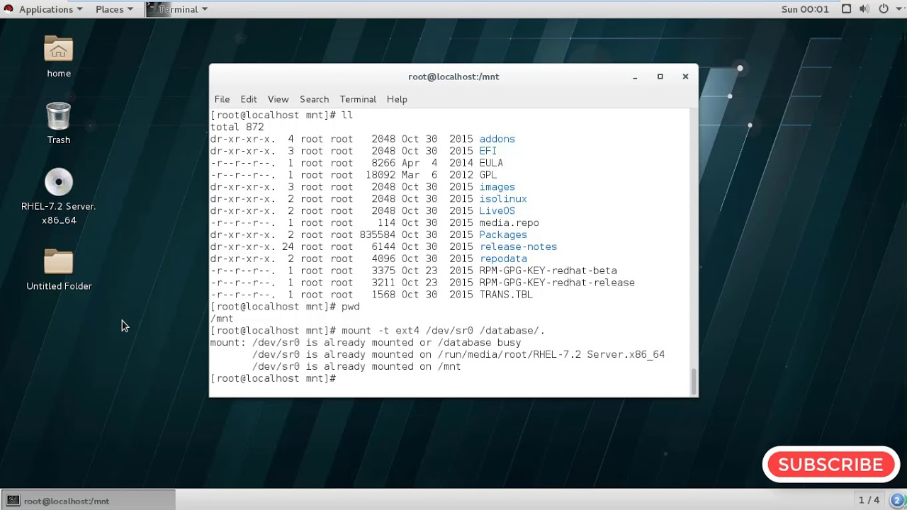 how to make partition in linux