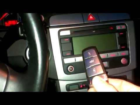 How To Start A Vw Passat 3c Automatic Volkswagen And Others With Ignition Key Wie Starten