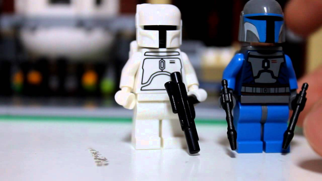 LEGO STAR WARS WHITE ORIGINAL 2010 BOBA FETT ULTRA RARE