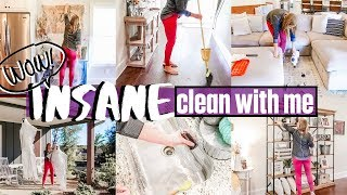 WOW! INSANE CLEAN WITH ME!   HALLOWEEN CLEAN & DECORATE   EXTREME CLEANING MOTIVATION   SAHM