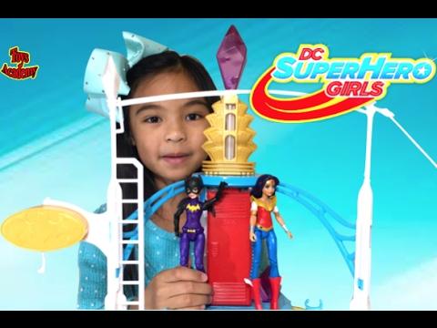 DC Super Hero Girls Super Hero High School Unboxing | Toys Academy