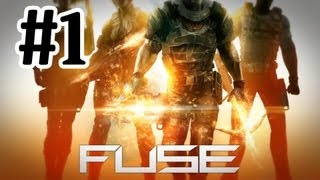 Fuse Gameplay Walkthrough Part 1 - CRAZY WEAPONS With Commentary 1080p Xbox 360