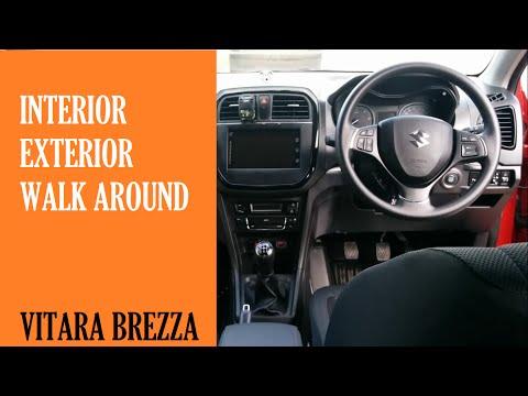 Exterior & Interior : Maruti Suzuki Vitara Brezza ZDI Plus Dual Tone (Blazing Red & Midnight Black)