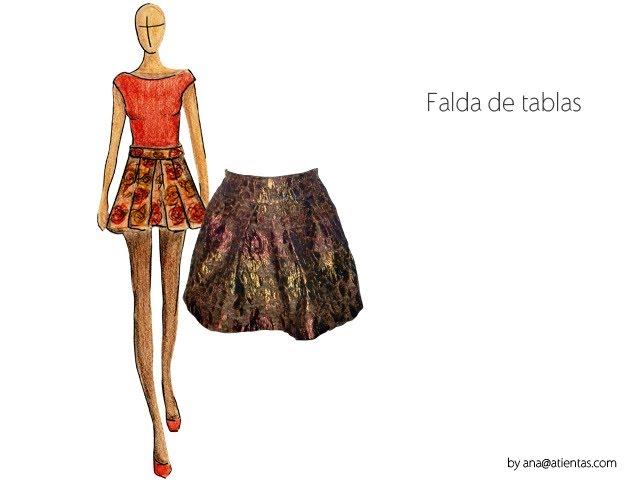 Cómo hacer una falda de tablas sin patrón - clipzui.com