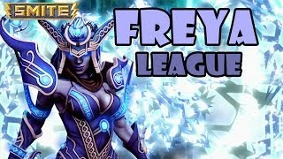 SMITE League Conquest #32 - Freya