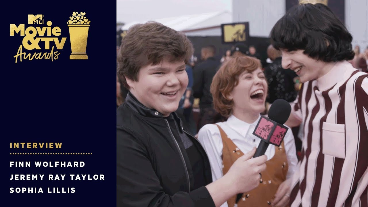 Download Finn Wolfhard Crashes Jeremy Ray Taylor & Sophia Lillis Interview | 2018 MTV Movie & TV Awards